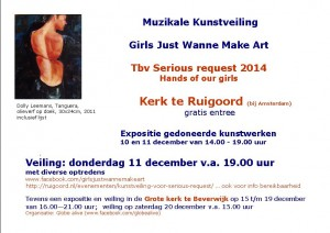 2014 Kunstveiling tbv Serious Request 2014