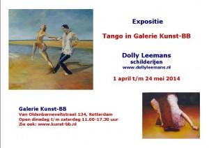 Aankondiging expositie Galerie BB 2014