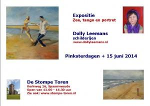 Aankondiging expositie Stompe Toren (kerk) Spaarnwoude 2014