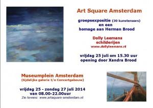Aankondiging Art square Adan juli2014