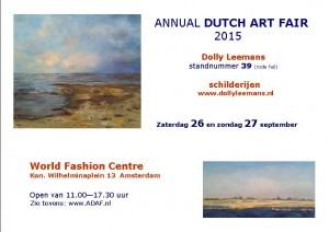 Aankondiging ADAF 2015